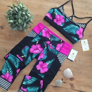 NWT Body glove workout outfit